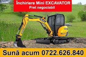 Inchirere Miniexcavator